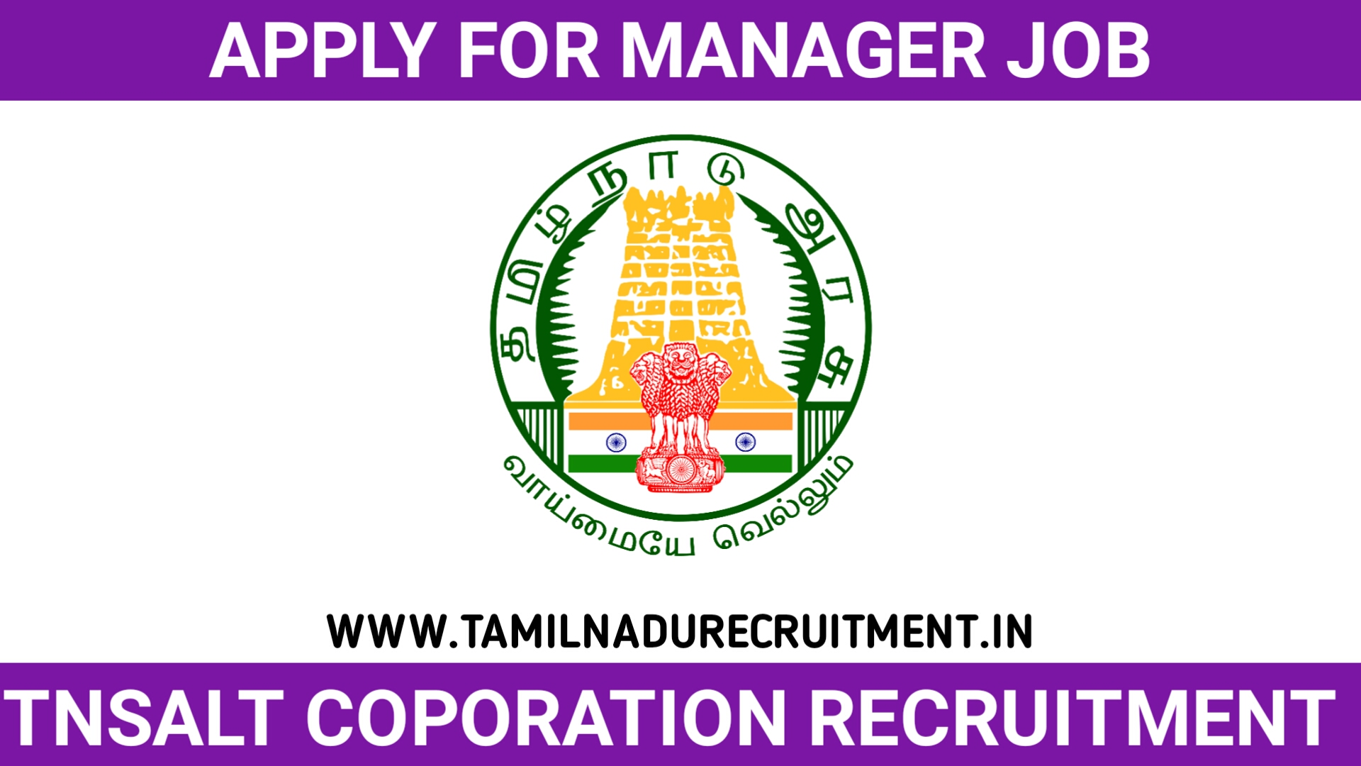 Photo of TN Salt Recruitment 2020 – Executive and other various posts
