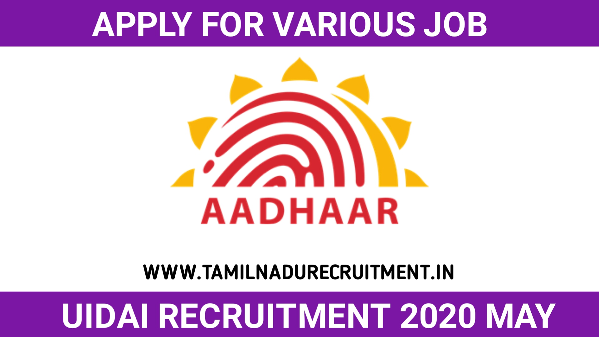 Photo of UIDAI recruitment 2020 for 06 Assistant Director General posts