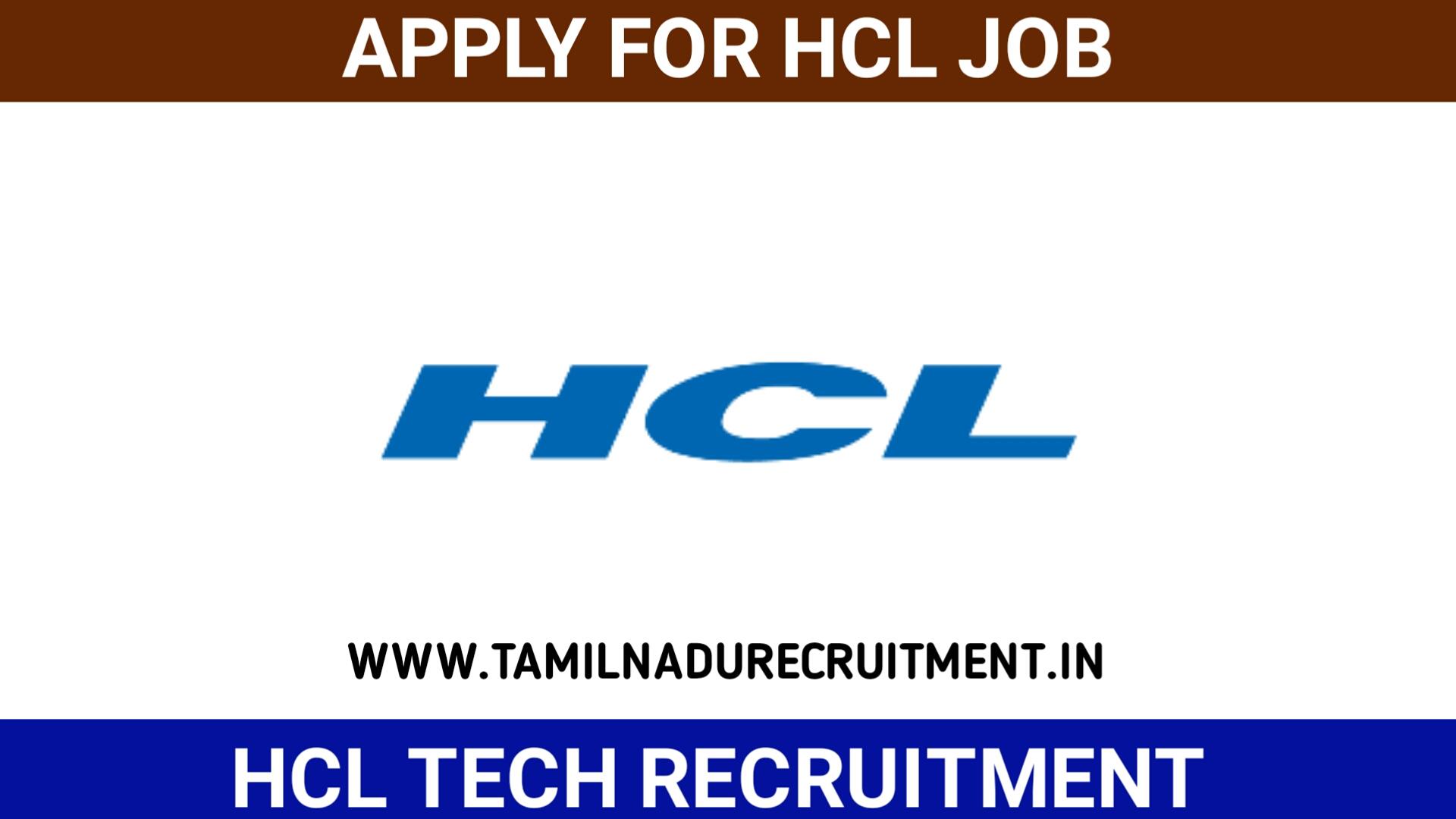 Photo of HCL recruitment 2020 – 73 Senior Software Engineer & AM Posts