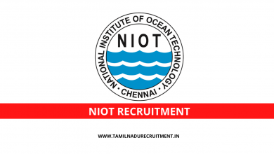 Photo of NIOT Chennai recruitment 2020 for 05 Scientist, Technician posts