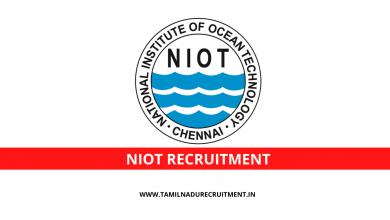 Photo of NIOT Chennai recruitment 2020 for 05 Scientist, Technician posts